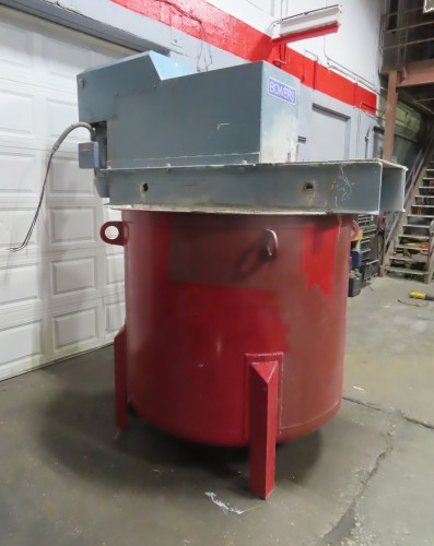 30 hp Bowers High Speed Tank Mounted Disperser