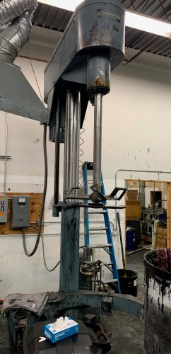 30 hp Schold Co-axial high speed disperser