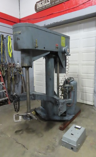 30 hp Schold Co-axial Disperser
