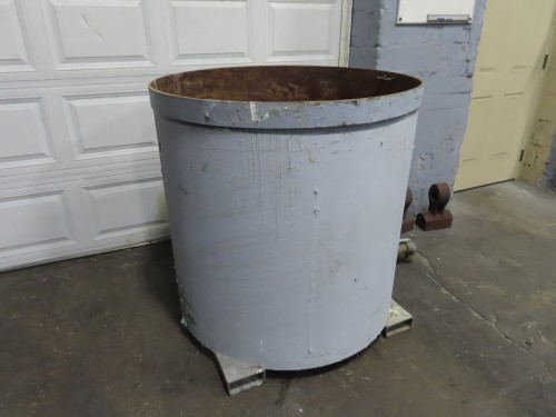 250 gallon mix tub