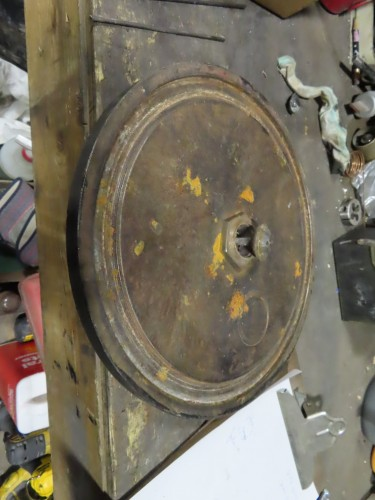 16P Sandmill bottom chamber plate.