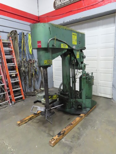 50 hp Schold Co-axial High Speed Disperser