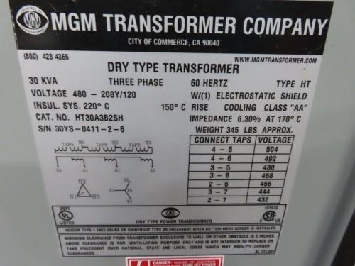30 kva transformer