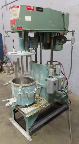 3 hp Myers Engineering Dual Shaft Vacuum Capable Disperser