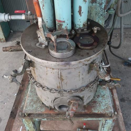 dual shaft high speed disperser