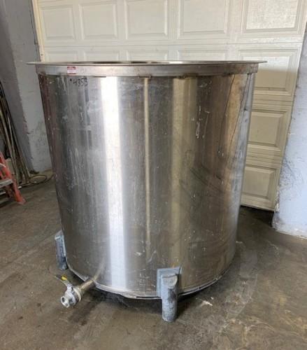 400 gallon Stainless Steel Tank