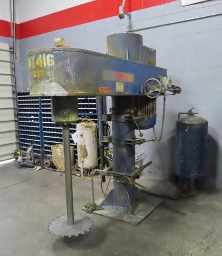 60 hp Hockmeyer High Speed Disperser