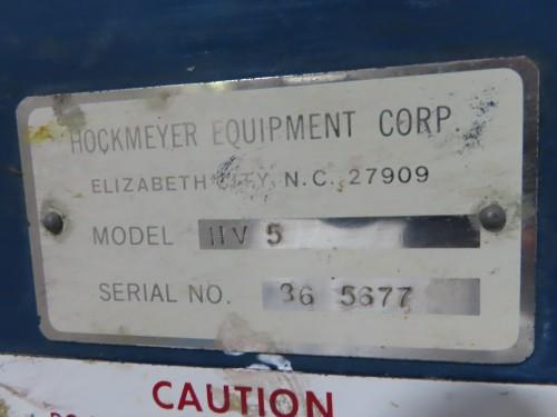 5 hp Hockmeyer High Speed Disperser