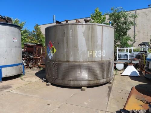 500 gallon Stainless Steel Tank