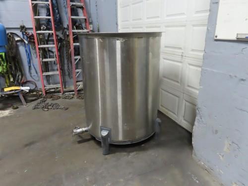 265 gallon stainless steel tank