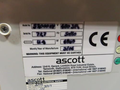 Ascott Salt Spray Corrosion Test chamber