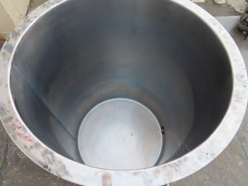 200 gallon stainless steel tank