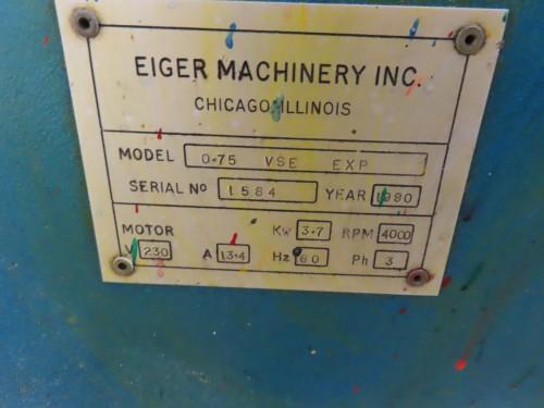 EMI Eiger Horizontal Media Mill lab