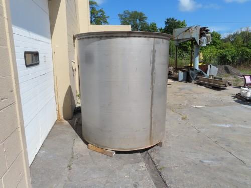 000 gallon stainless steel tank
