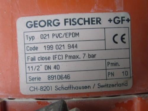 Georg Fischer valves