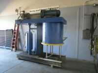 used 150 gallon Ross Double Planetary Mixer, stainless steel.