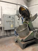 used Eirich Intensive Mixer, R08W, 2.7 cu ft working capacity.
