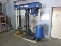 Hockmeyer Basket Mill, 25 hp, floor mount