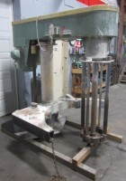 50 hp used Schold Rotor Stator Mixer Disperser