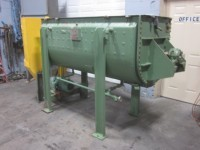 35 cu ft J.H. Day used Double Ribbon Blender, jacketed and stainless steel