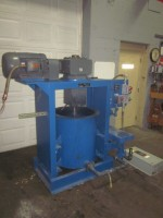 50 gallon used Batch Attritor, 15 hp variable speed drive,