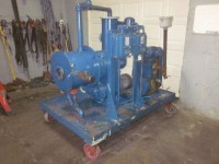 used Cornell Versator, Model D16, 10 hp with vac. pump