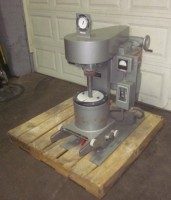 used Union Process Lab Attritor, urethane lined, 2hp