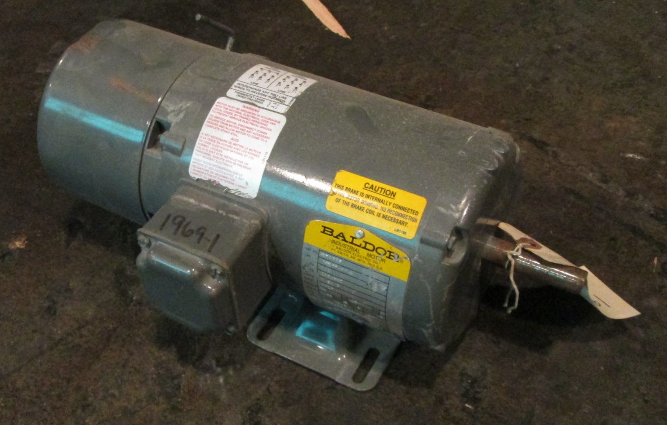 1 2 hp baldor electric motor 1725 rpm for 2 rpm electric motor