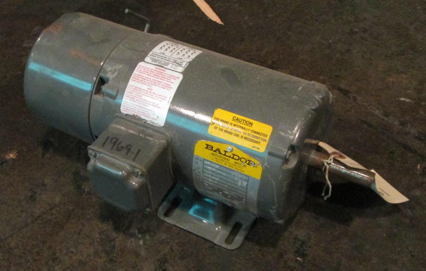 1 2 hp baldor electric motor 1725 rpm for 1 hp electric motor 1725 rpm