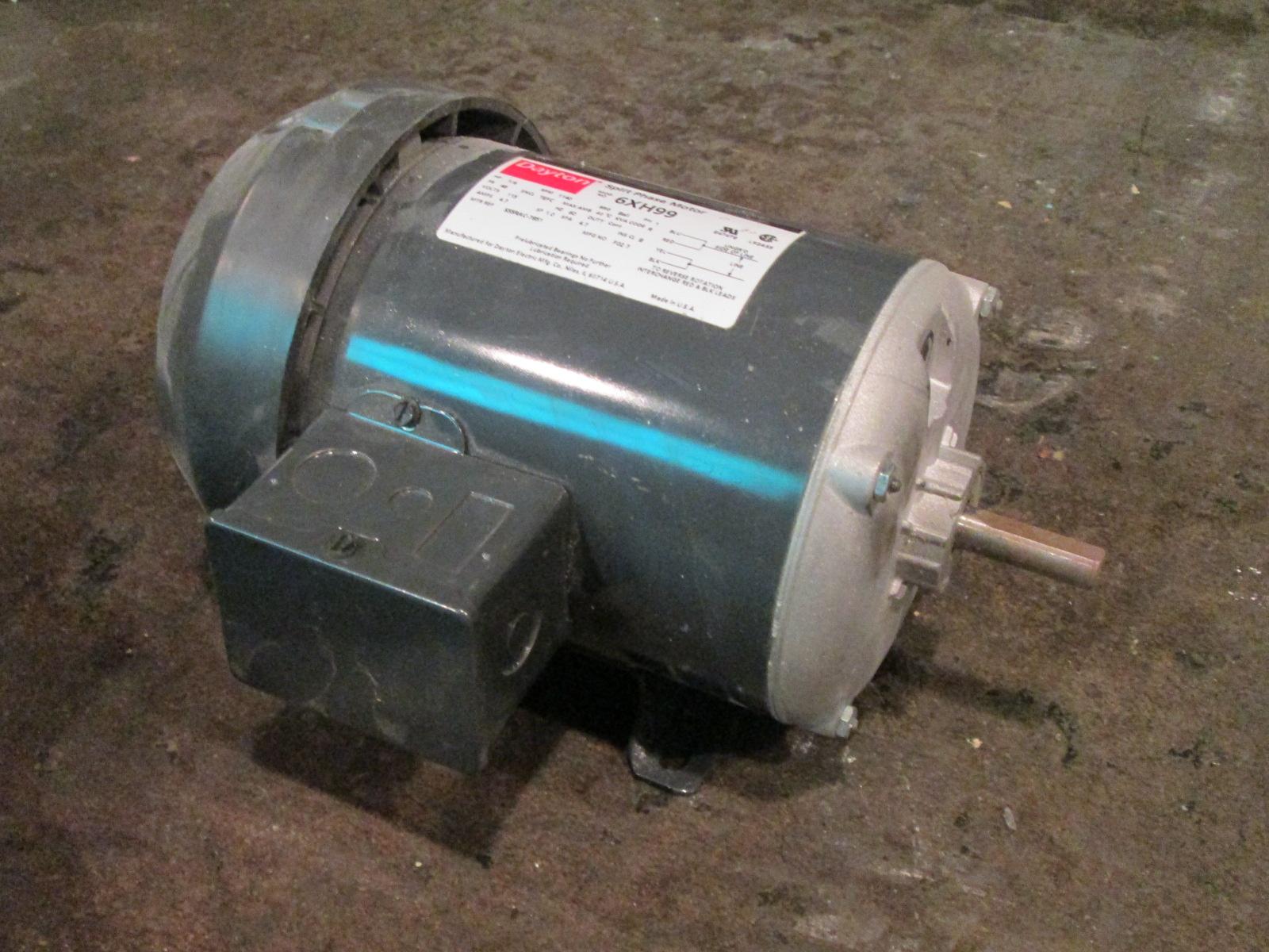 1 6 hp dayton electric motor 1140 rpm single phase. Black Bedroom Furniture Sets. Home Design Ideas