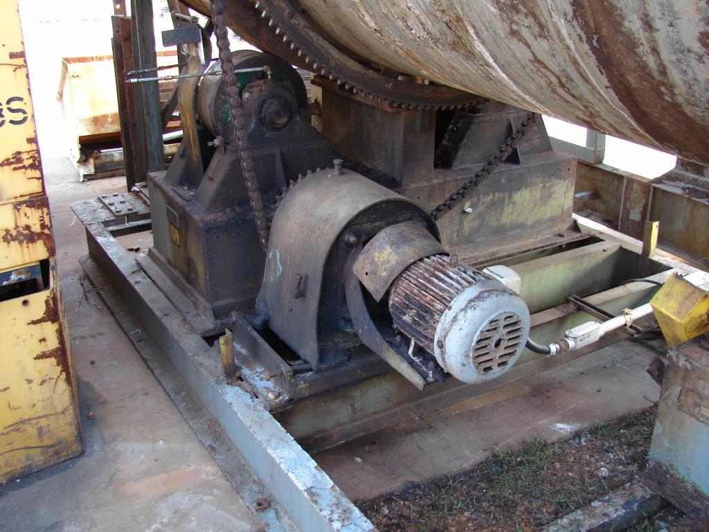 John B. ADT Co. Rotary Dryer 60 tube x 21.5' long steam heated #9A7A31
