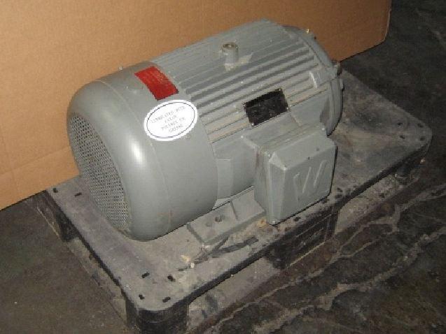 30 Hp Worldwide Electric Corp Electric Motor