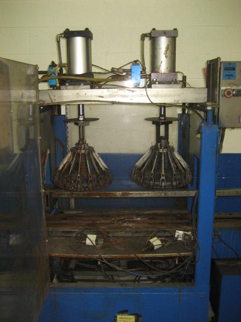 Double Pail Lid Crimper Set Up For 5 Gallon Pails