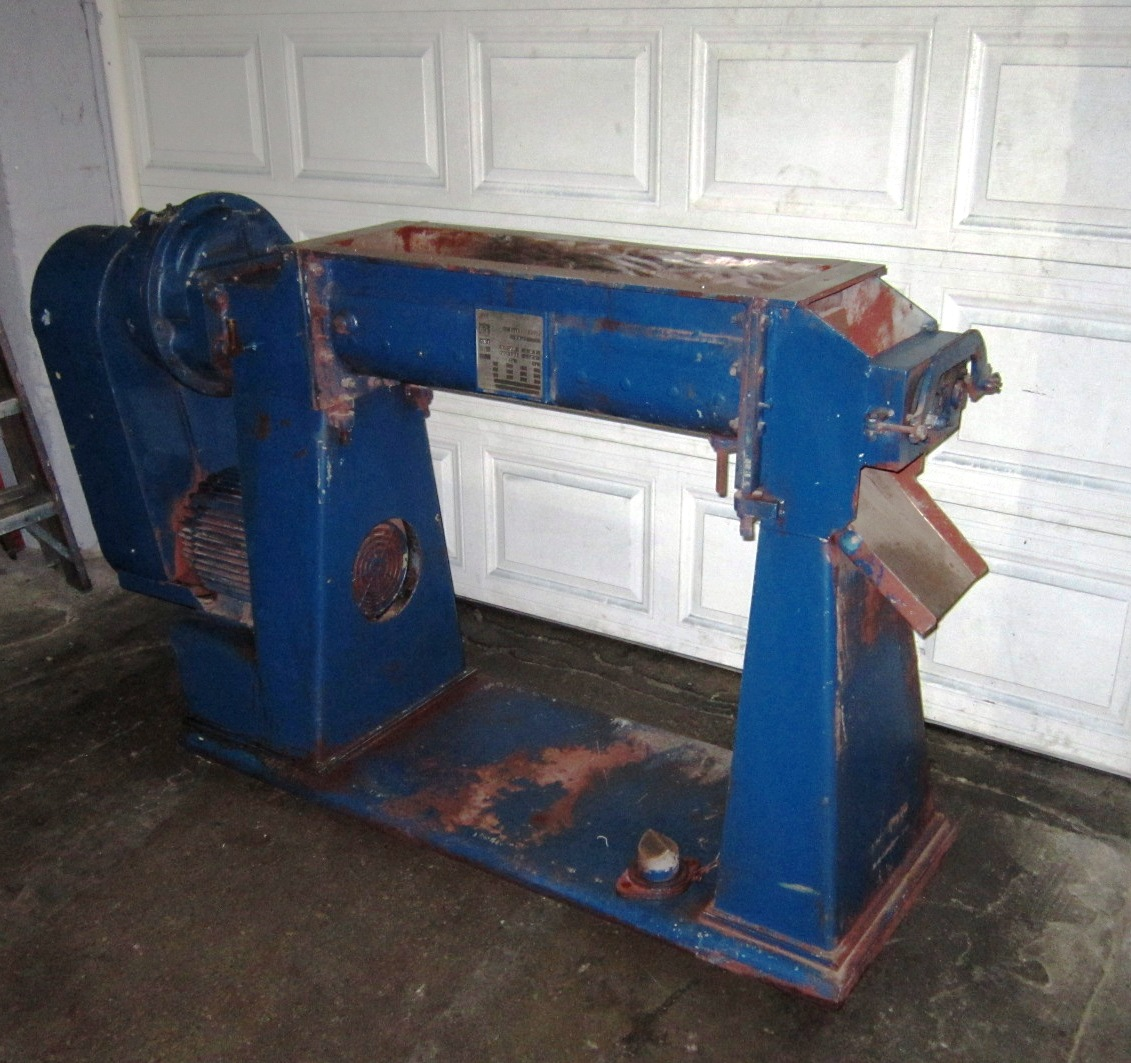 Patterson Jacketed Pug Mill Mixer