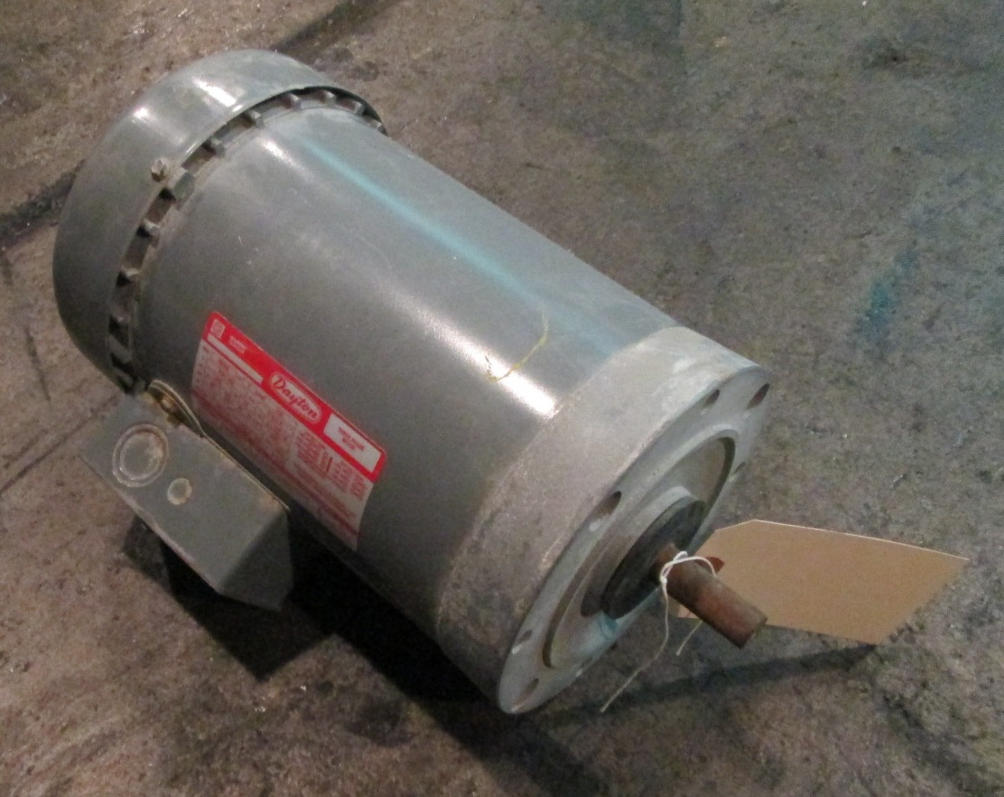 2 hp dayton electric motor 1725 rpm for 2 rpm electric motor