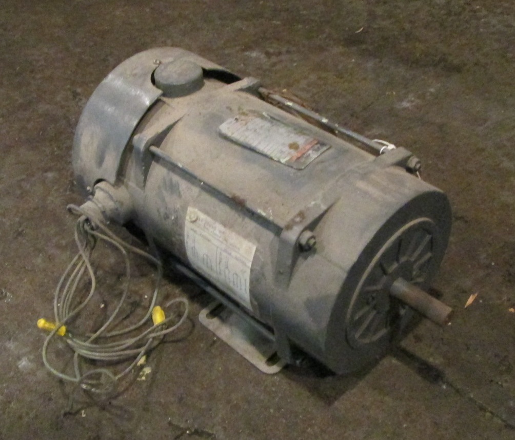 5 hp baldor electric motor industrial electronic components for Single phase motor efficiency