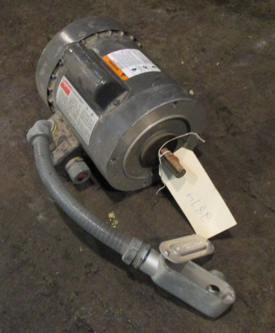 1 4 hp dayton electric motor 1725 rpm single phase for 1 hp electric motor
