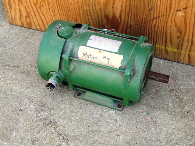 2 hp rebuilt electric motor 1730 rpm frame 145t for Who rebuilds electric motors