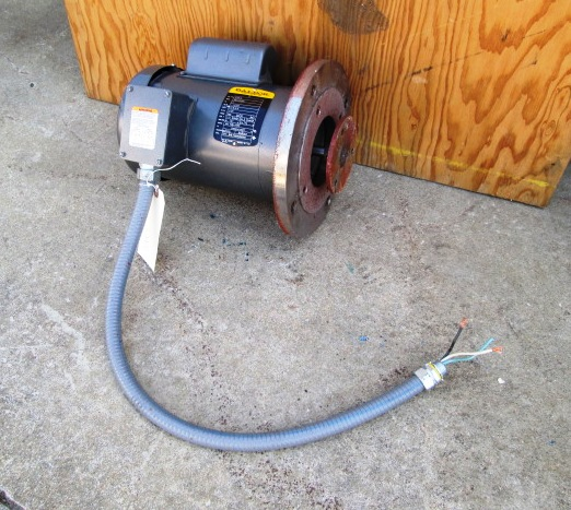1 hp baldor electric motor 1725 rpm tefc single phase for 1 hp electric motor 1725 rpm