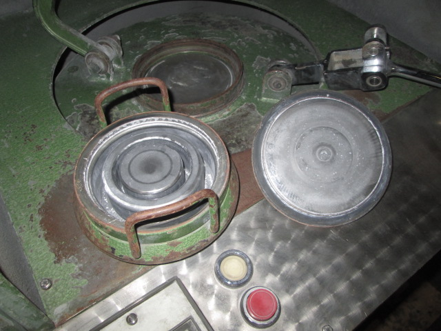 Used Ring And Puck Mill