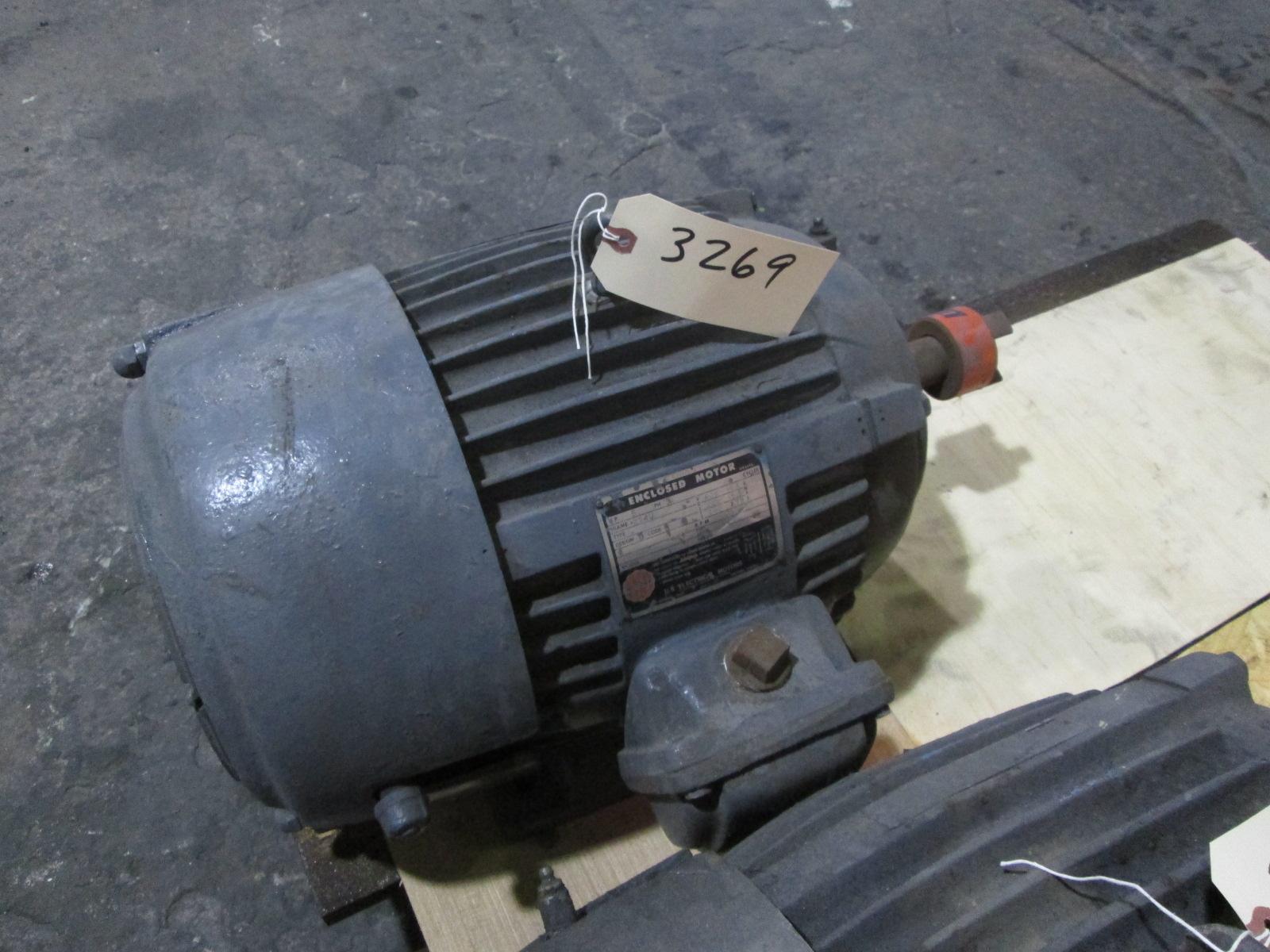 5 Hp Us Motors Electric Motor