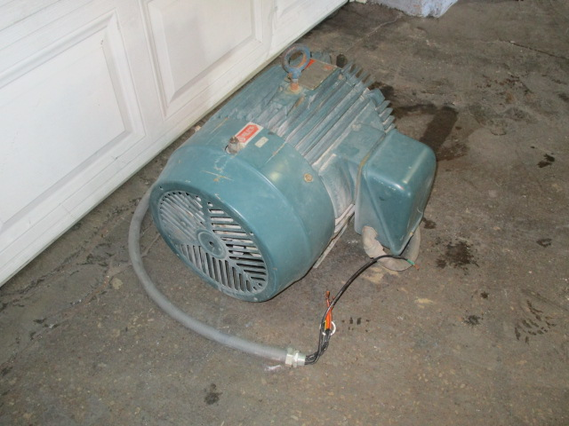 Used 25 Hp Reliance Electric Ac Motor Energy Efficient