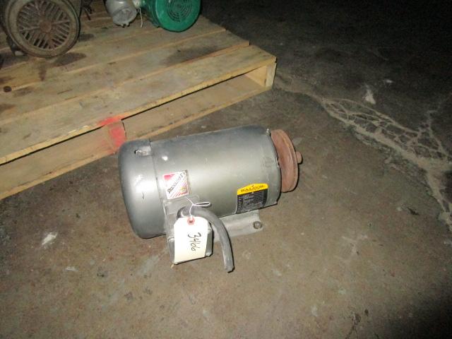 5 Hp Baldor Electric Motor 3450 Rpm 3 Phase 208 230 460