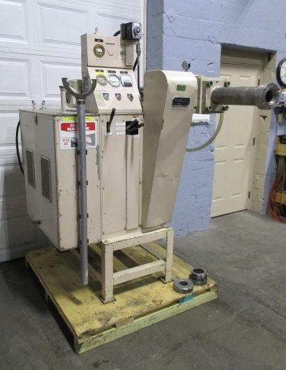 High Pressure Extruder : Ton wahlco extruder high pressure hydraulic