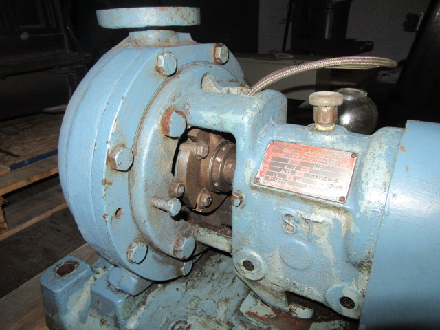Goulds centrifugal pump stainless steel with mechanical for Us electric motor serial number lookup