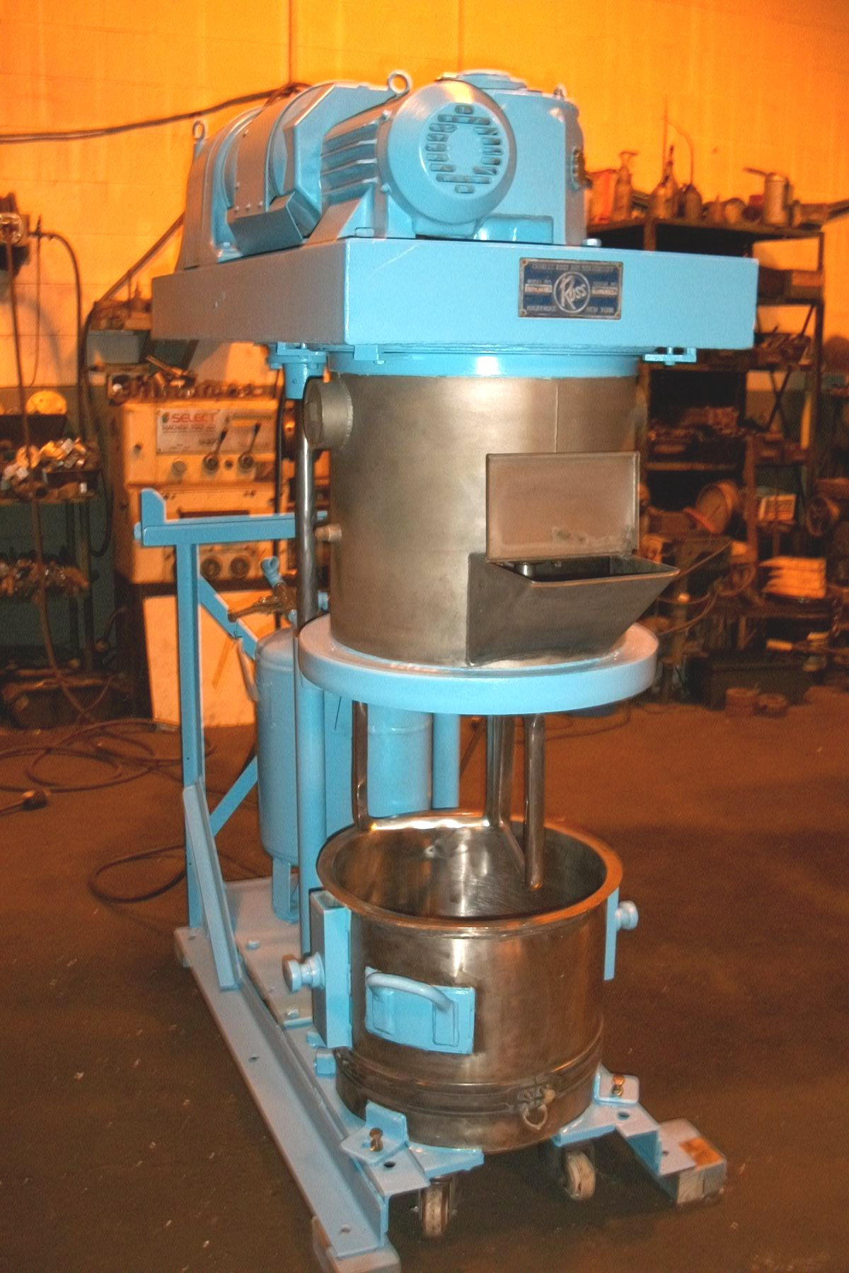 10 Gallon Ross Double Planetary Mixer Stainless Steel