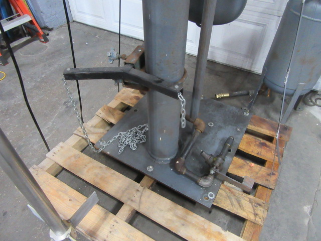 10 hp Hockmeyer Post Mixer, 170 rpm, stainless steel shaft